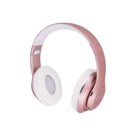 Headphones BHS-300 Music Soul bluetooth pink