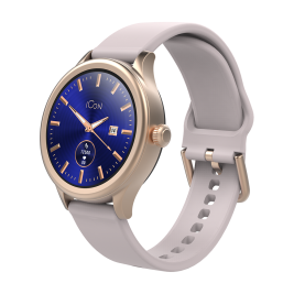 Smartwatch AMOLED ICON AW-100 rose gold
