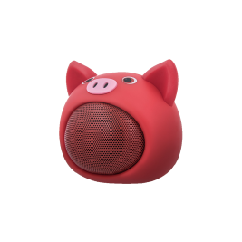 Speaker Sweet Animal Pig Rose ABS-100 bluetooth