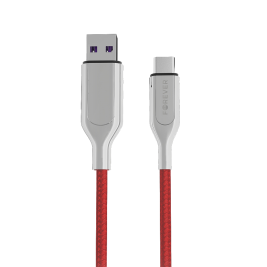 Cable CORE Ultra Fast USB – USB-C 1,0 m 5A red