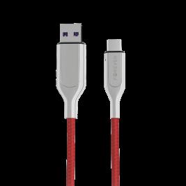 Kabel CORE Ultra Fast USB – USB-C 1,0 m 5A czerwony