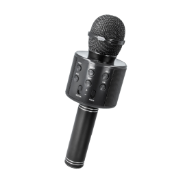 Bluetooth BMS-300 Microphone with a loudspeaker black