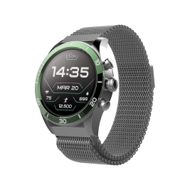 Smartwatch AMOLED ICON AW-100 zielony